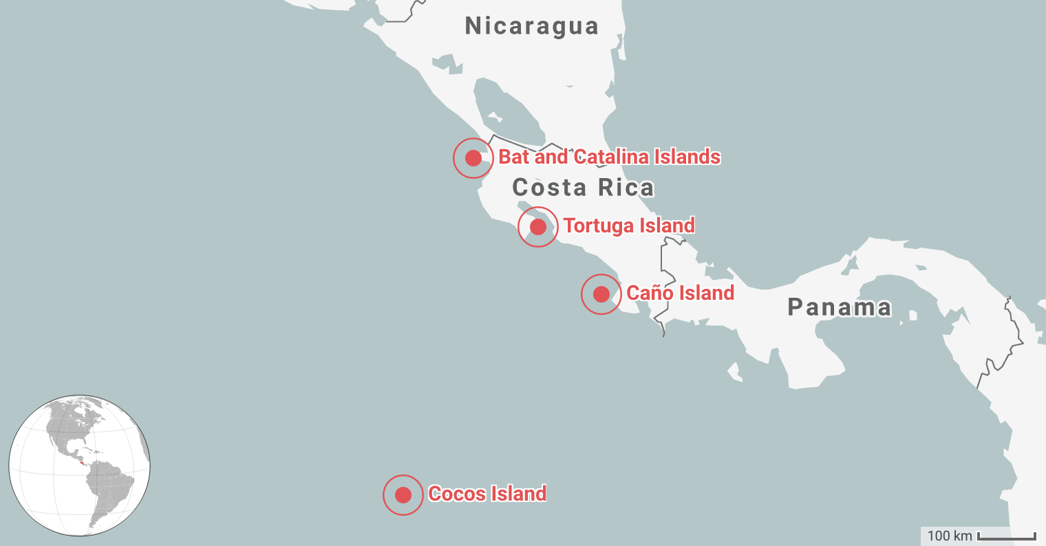 Best Places for Diving in Costa Rica